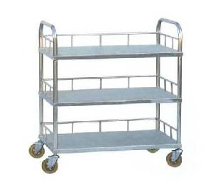 stainless steel layer instrument trolley