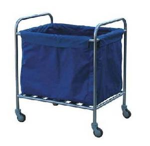 stainless steel waste trolley