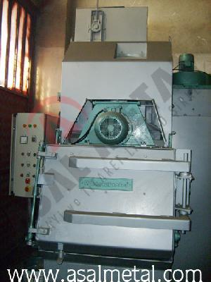 shot blasting machine rubber belt wheelabrator 250 kg