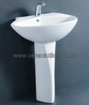 pedestal bathroom corner wash basin a4062