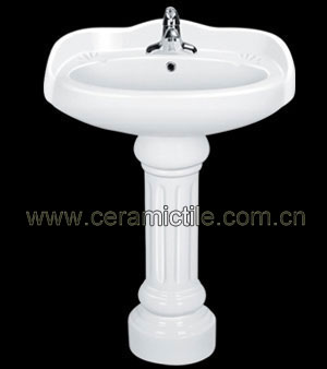 pedestal lavatory sink a4101