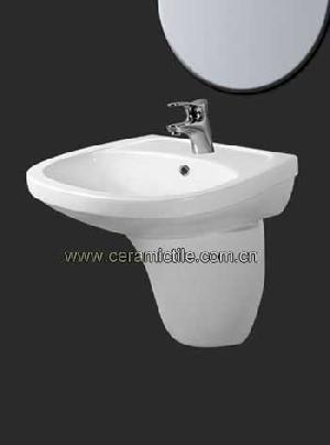 wall hung basin sink a4102