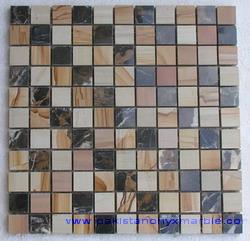 marble mosaic teakwood burmateak verona beige indus gold sahara champaign
