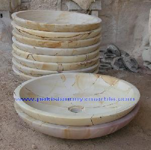 marble sinks basins stone gold