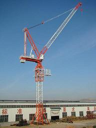 qtd125 5020 luffing tower crane