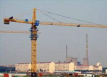 qtz40 tc5008 erecting tower crane