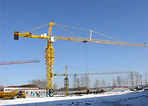 qtz63 tc5013 erecting tower crane