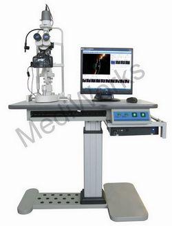 slit lamp image capture system digital camera