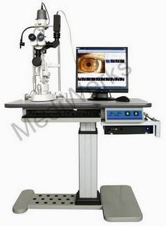slit lamp image capture system video