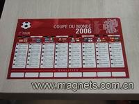 fridge magnetic calendar magnet