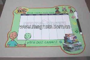 magnetic message board bulletin