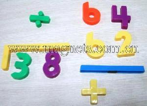 magnetic numbers letters