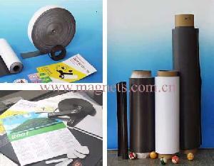 rubber magnet plastic