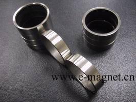 samarium cobalt rare earth ring magnet