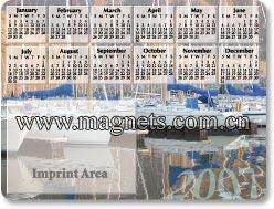 save date magnet calendar