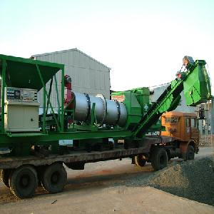 Mobile Asphalt Drum Mix Hot Mix Plant