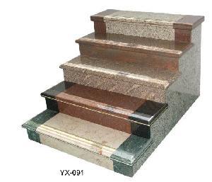 granite stone steps stairs entrance slab