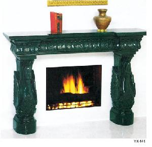 stone granite marble fireplace