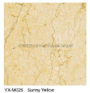 sunny marble tile