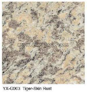 tiger skin rust granite tile