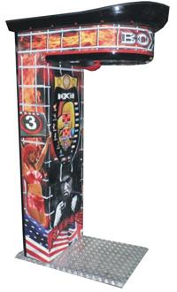 boxer amusement machine punch game