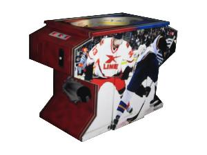 table hockey amusement machine