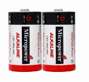 alkaline battery d lr20