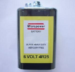 sellzinc carbon battery 4r25 6v