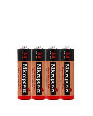 zinc carbon battery aa r6p