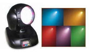 dmx led mini moving head 3w edison lamp stage light