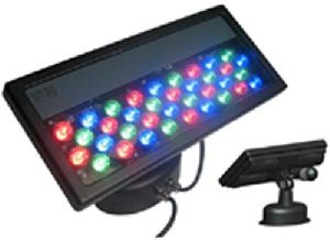 power led wall washer rgb remote controller