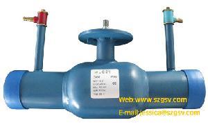 flow control ball valve