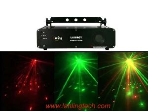 l618rgy led light laser lihgt twinkling dmx512 sounc control auto dj equipment