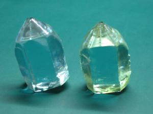 neodymium doped yttrium vanadate laser crystals