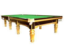 solidwood slate snooker table