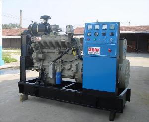 biogas gas genset generator