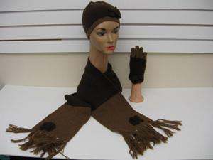 cashmere hat glove scarf