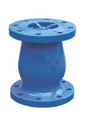 cast steel nozzle check valve