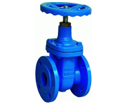 din 3202 f4 non rising stem gate valve resilient seat
