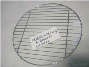 round cooling wire grill grid