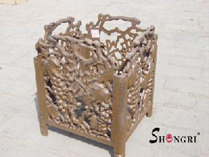 cast iron flower pot srhl 6109