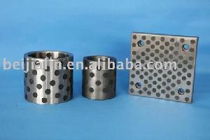cast iron bearing graphite sliding bearings plain oilless bushings bronze bushing