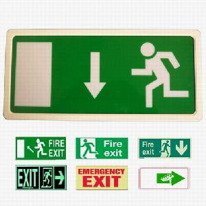 emergency light exit signs lighting lamp lights 808