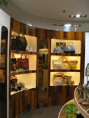 bag display cabinet showcases stands