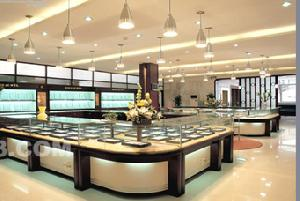 luxurious jewellery display cabinets showcases shop store