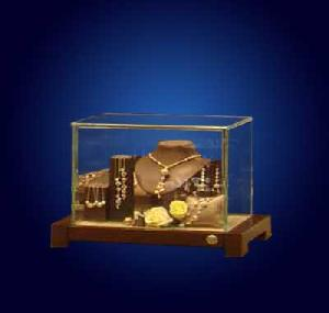mdf glass jewellery display cabinet showcases store