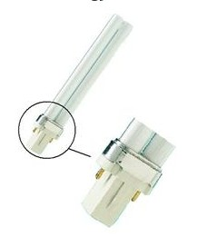 pl s 2 pin tube g23 base compact fluorescent