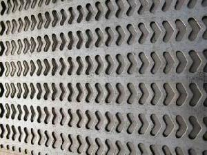 punched metal panels
