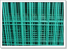 pvc coated wire welded panels