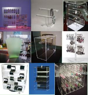 jewellery display acrylic